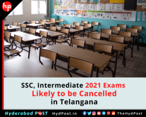 Read more about the article SSC, Intermediate 2021 Exams Likely to be Cancelled in Telangana