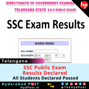 Read more about the article SSC Public Exam Results Declared, All Students Declared Passed