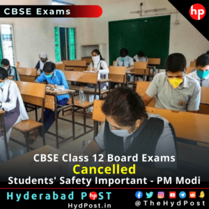 Read more about the article CBSE Class 12 Board Exams Cancelled, Students' Safety Important – PM Modi